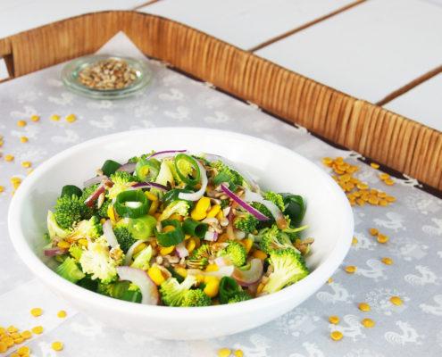 Lupinen Brokkoli Salat